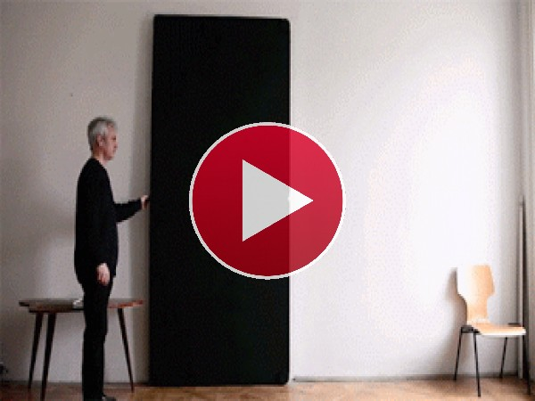 Una puerta muy moderna