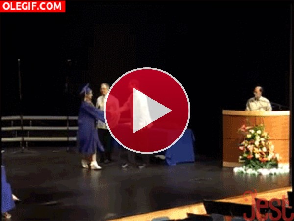 GIF: ¡Me he graduado!
