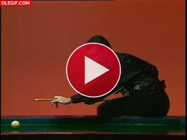 GIF: Snooker pasado por agua