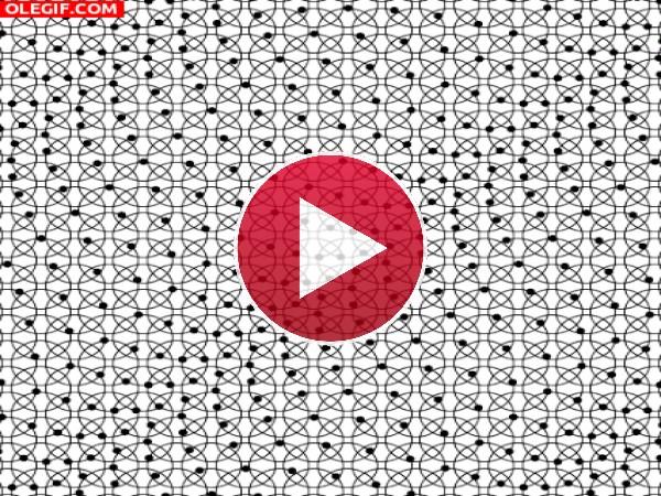 GIF: Puntos en movimiento