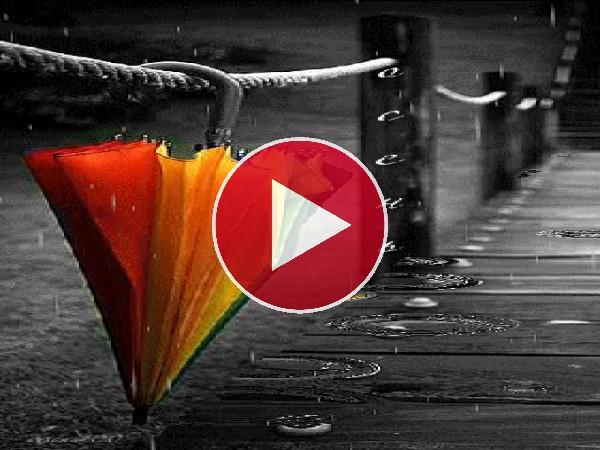 GIF: Paraguas bajo la lluvia