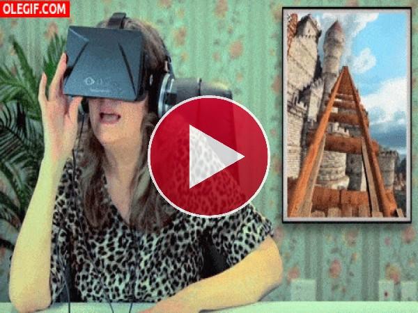 GIF: Experiencia con las Oculus