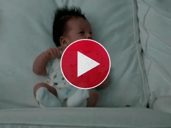 Vaya respingo da este bebé