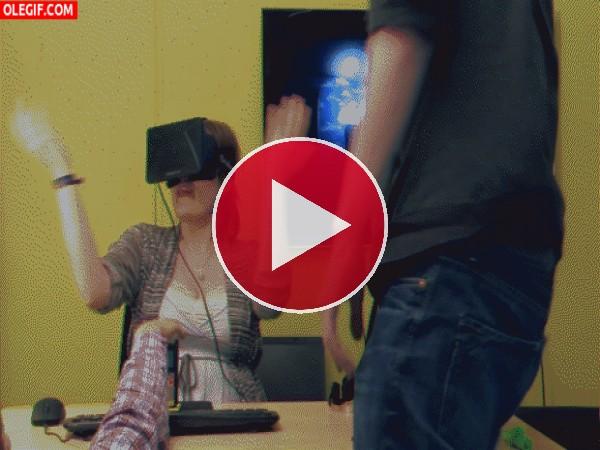 GIF: Viviendo a tope con las Oculus