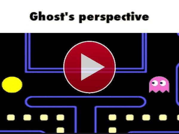 GIF: Charla amigable en Pac-Man