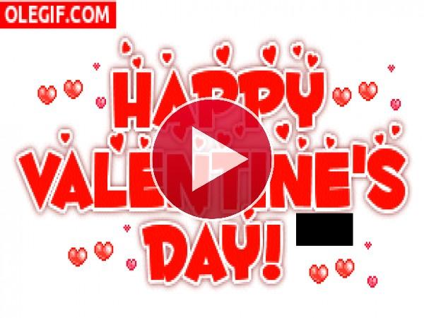 GIF: ¡Feliz Día de San Valentín!