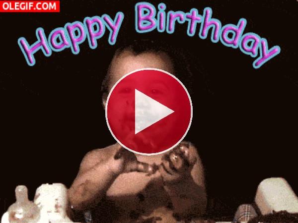 GIF: ¡Feliz cumpleaños!