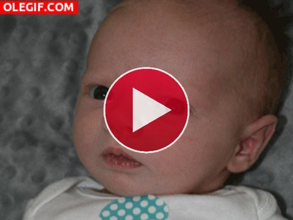GIF: La risa de un bebé