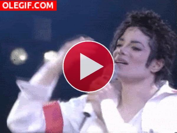 El beso de Michael Jackson