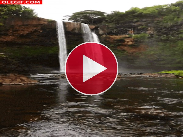GIF: Hermosas cascadas