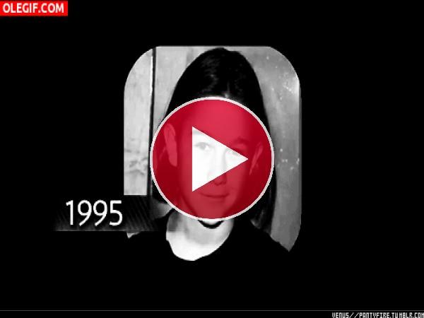 GIF: El paso de los años en Joseph Gordon-Levitt