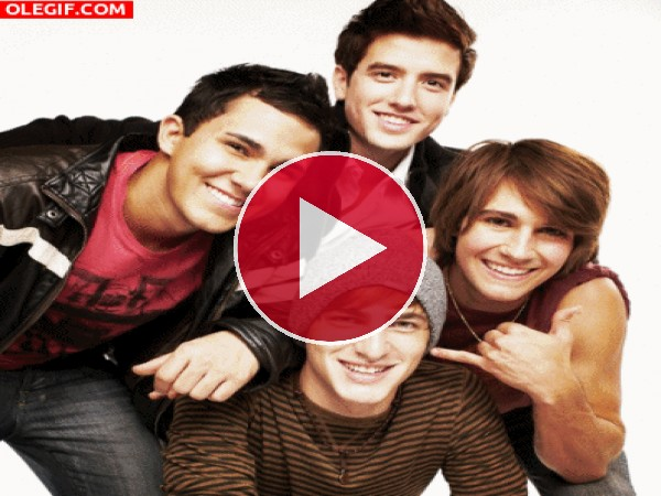 Las caras chistosas de Big Time Rush