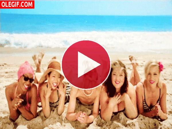 GIF: ¡Estamos de vacaciones!