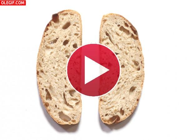 Ricas tostas de pan