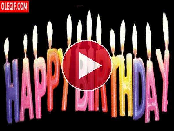 GIF: Feliz cumpleaños