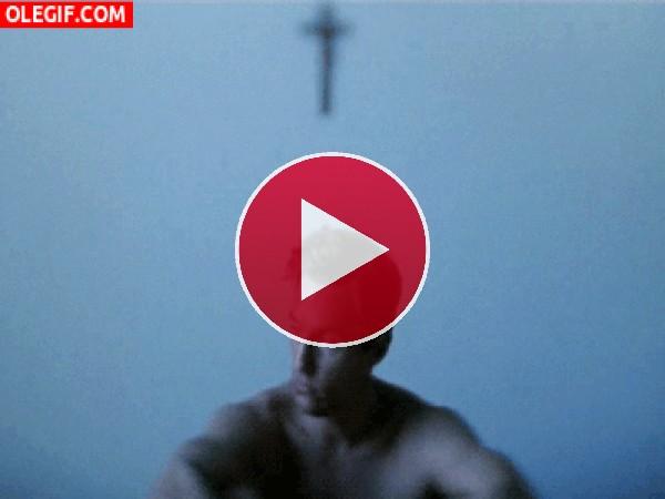 GIF: Matthew McConaughey recién levantado