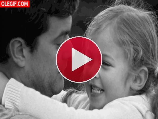 GIF: ¡Te quiero papá!