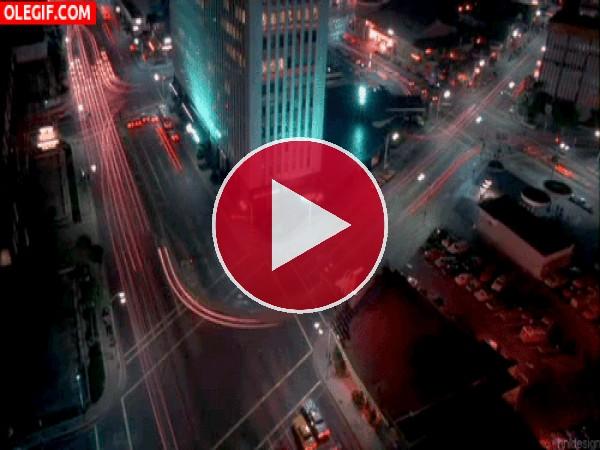 GIF: Coches en la ciudad