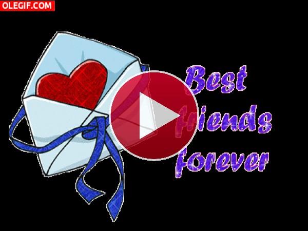 GIF: ¡Amigos para siempre!