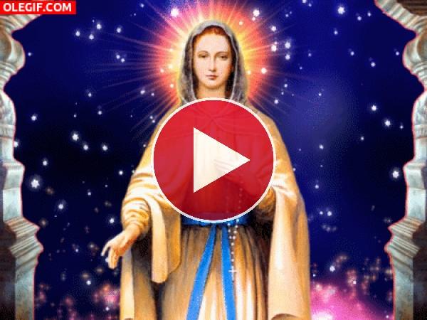 GIF: La Virgen María