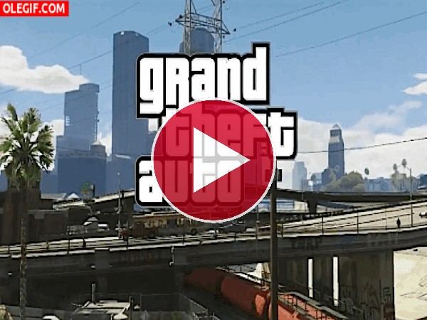 GIF: Grand Theft Auto V