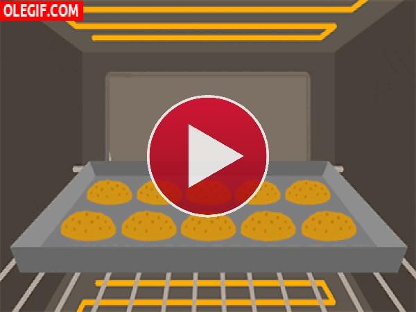 Vigilando las galletas