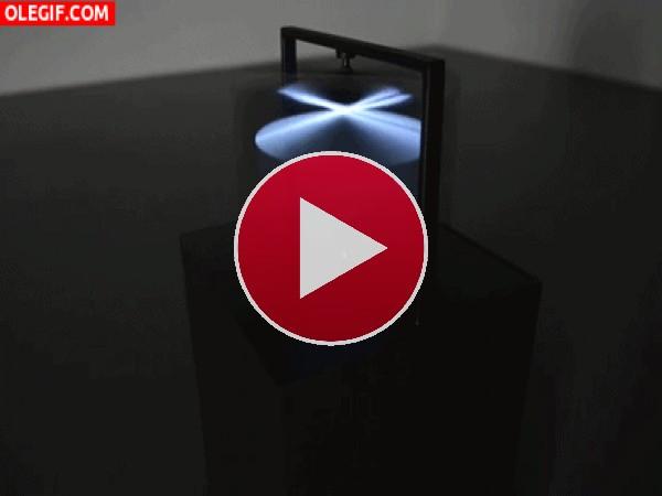 GIF: Escultura luminosa