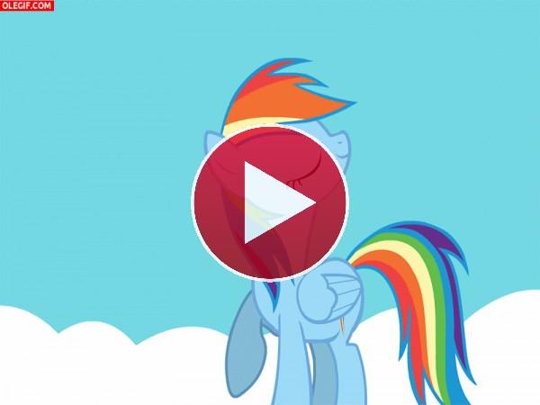 GIF: ¡Soy Rainbow Dash!