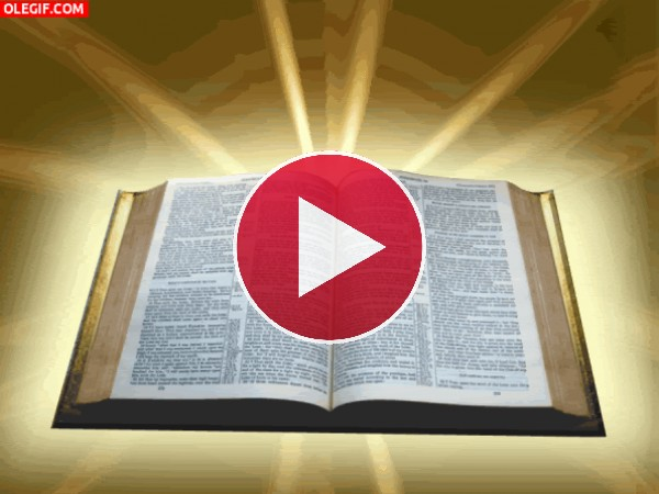 GIF: La Biblia resplandeciente