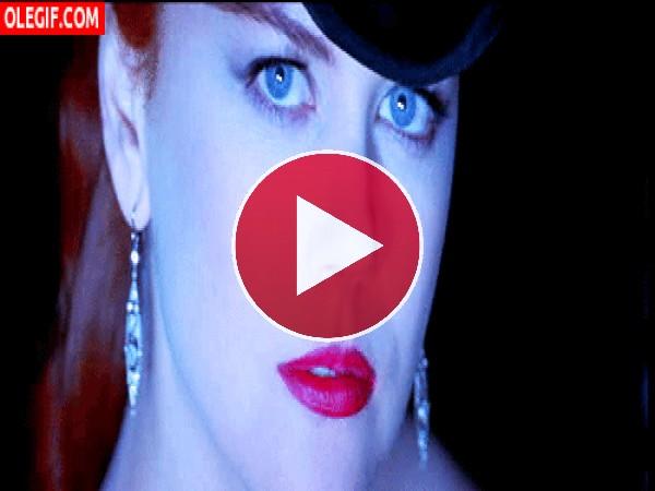 GIF: La mirada de Nicole Kidman
