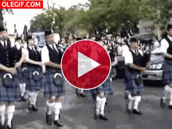 Desfile de gaitas