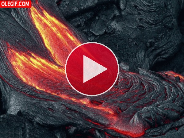 GIF: Ríos de lava