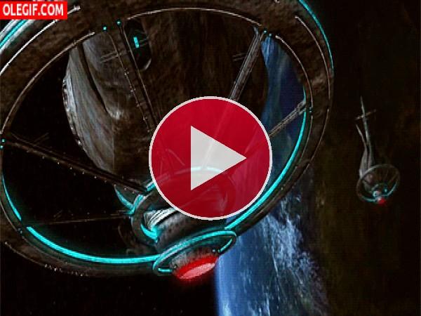GIF: Naves en el espacio