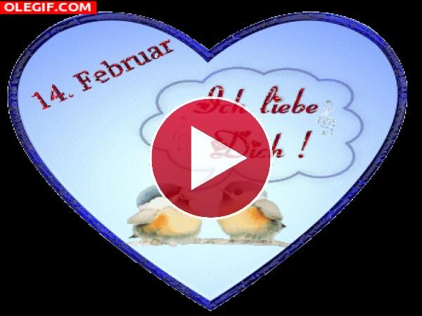 GIF: Feliz Día de San valentín