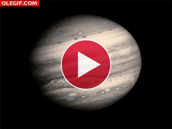 GIF: Contemplando Jupiter