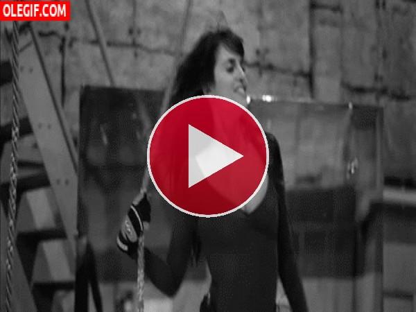 GIF: A Penélope Cruz la gusta bailar