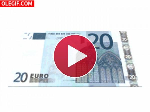 GIF: Billete de 20€