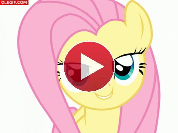 GIF: Los simpático personajes de My Little Pony