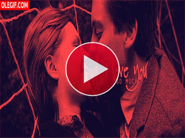 GIF: Un beso apasionado