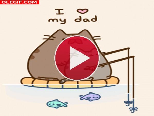 GIF: Te quiero papá