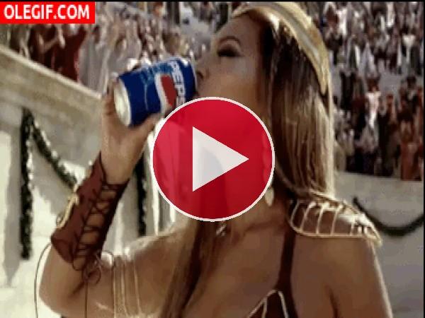 GIF: ¡Nos gusta la Pepsi!