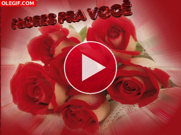 GIF: Flores para ti