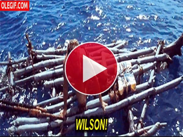 GIF: Histeria por perder a Wilson