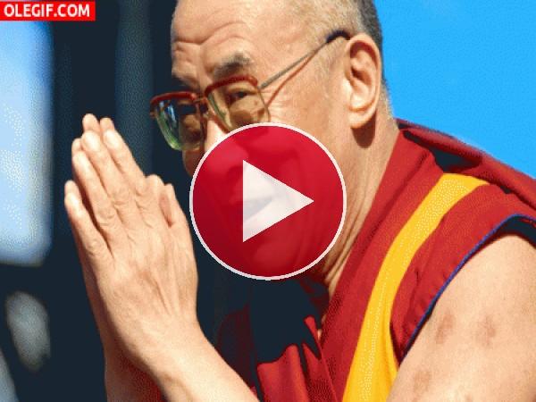 GIF: El Dalai Lama