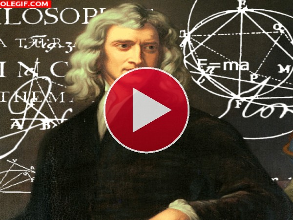 GIF: Isaac Newton