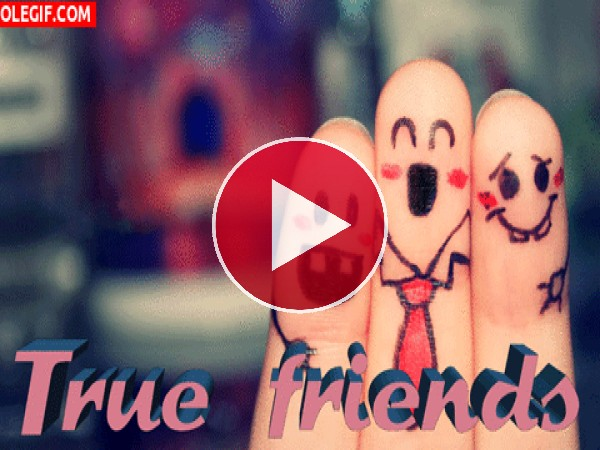 GIF: Amigos para siempre