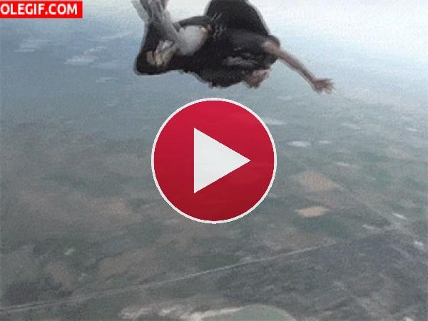 GIF: Girando en el aire