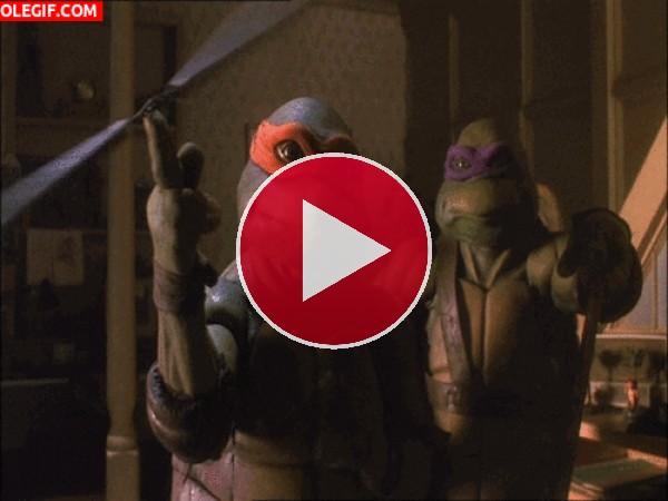 GIF: Las Tortugas Ninja