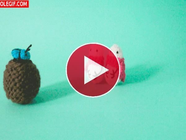 Se cayó el escarabajo pelotero
