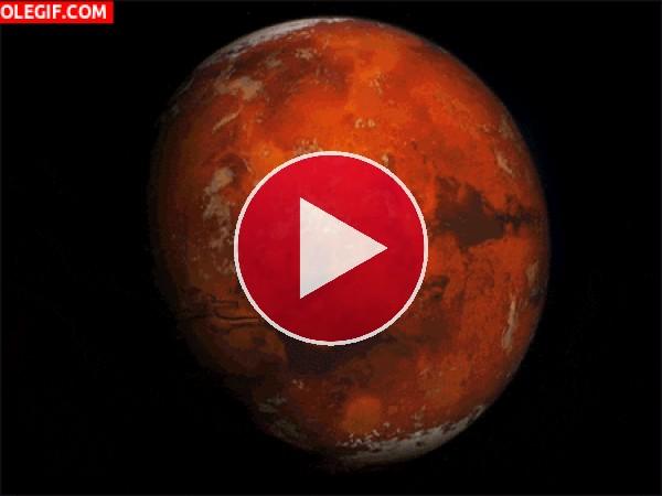 GIF: Movimiento de Marte